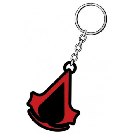 Assassin´s Creed Revelations Llavero caucho Red Logo