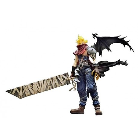 Kingdom Hearts 2 Play Arts Vol. 2 figura Cloud Strife 19 cm