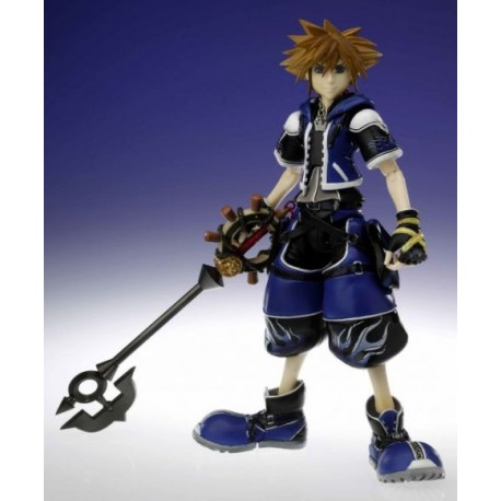 Kingdom Hearts Play Arts Volume Figura Sora Wisdom 18 cm