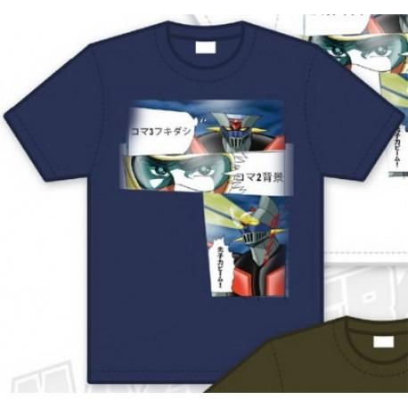 Mazinger Z - Camiseta Viñeta Azul T M