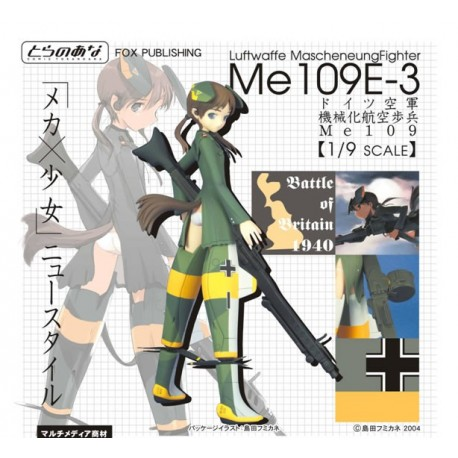 MECHA MUSUME - Luftwaffe Mascheneung Fighter Me 109E-3 PVC Statu