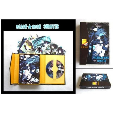 Black Rock Shooter - Pack DVD + Postales