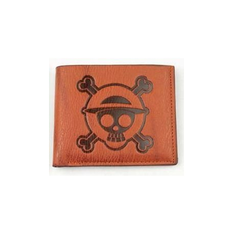 One Piece - Cartera Piel Logo antigua