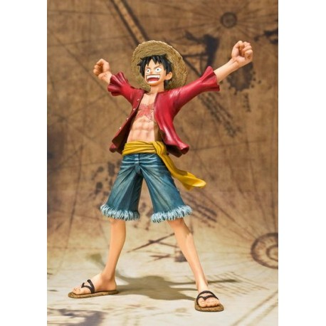 ONE PIECE - FIGUARTS LUFFY NEW WORLD14 CMS
