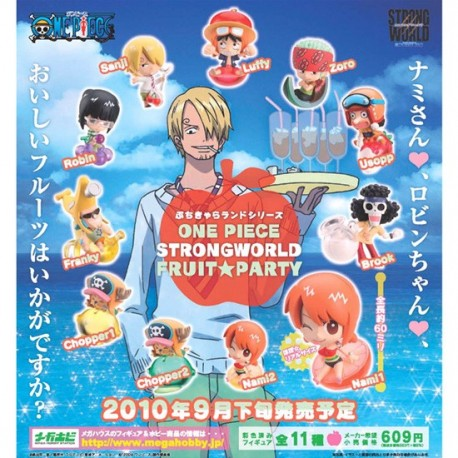 One Piece - Petit Chara Land STRONG WORLD FRUIT PARTY