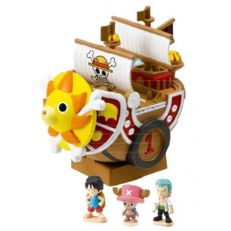One Piece Hucha con Figuras Thousand Sunny 11 cm