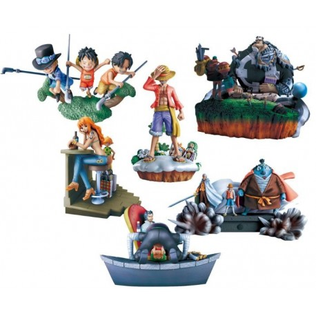 One Piece LOG Box Marineford Vol. 2 Caja Aleatoria 10cm